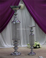 decorative color changed lighted crystal columns for wedding