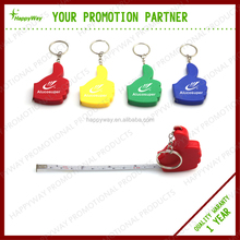 Portable Funny Plastic Thumb Tape Measure, 0402040 MOQ 100PCS One Year Quality Warranty