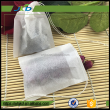 Easy Use filter paper empty tea bag with string and tag