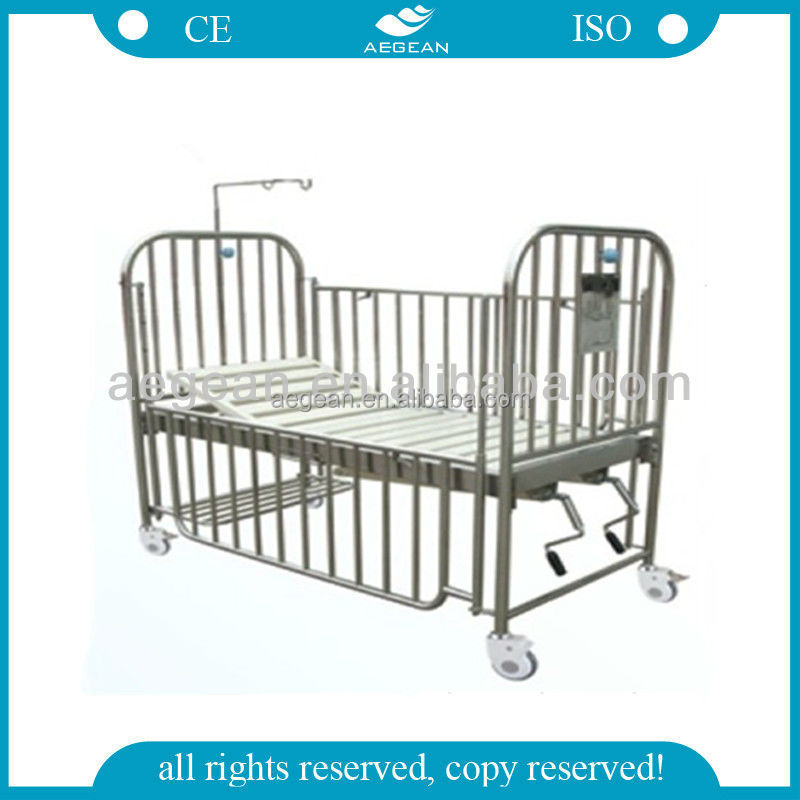 AG-CB014 hospital baby bed stainless steel childrens furniture