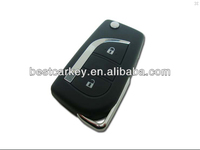 High quality modified flip key shell for toyota key 2 button Toyota blank key sale