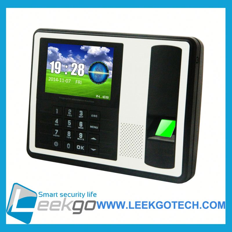 Standalone Offline Factory Price biometric time in time out finger print attendance