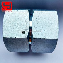Carbon Steel BSP Female 60 Degree Cone Straight Swivel Thread Hydraulic Galvanized Pipe Fitting(3B)
