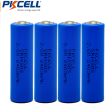 Energy type Li-Socl2 batteries lithium battery er14505h 3.6v size er14505/aa battery with wire