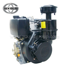 Black Outboard Diesel Power Engine for Home Use