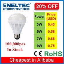 cheap price B22 E27 E14 plastic 5W led bulb