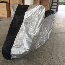 150D Reflective Motorcycle Cover Waterproof With Heat Resistance