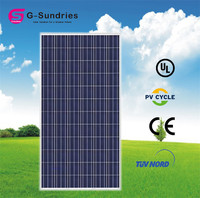Delicate high quality sunel solar panel 190w