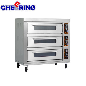 CE approved 3 tier electric food oven pizza ovens