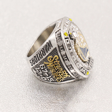 CP0006 JN sports ring 2017 Golden State Warriors National Basketball World Championship Rings For Curry fans size 8 - 14