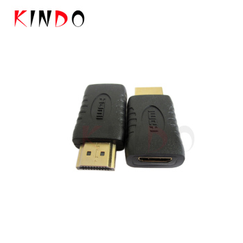 Kindo hdmi type c female to hdmi type a male  adapter hdmi male to female adapter support 4K 1080P 3d ethernet