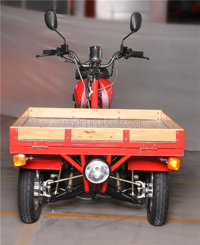 Hot Sale China 3 Wheel Motorcycle Tricycle Air Cooling 50cc/110cc Motor Trike