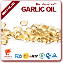 Food supplement Garlic oil capsules health care products distributors