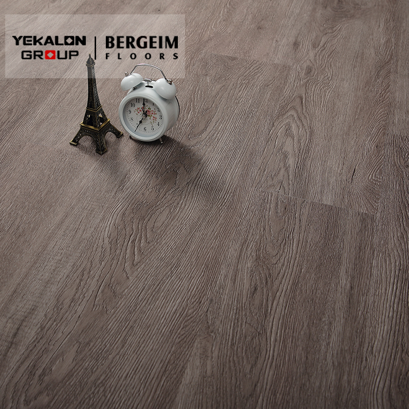 Click Woven Homogeneous Tile Wood Luxury Vinyl Roll Heat Resistant Self Adhesive PVC Vinyl Plank Flooring Covering