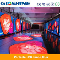 portable indoor/outdoor concerts stage P8 led video dance floor