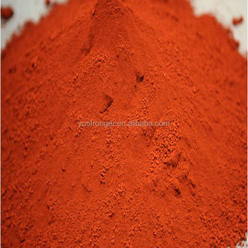 synthetic color paint Iron Oxide Red/Yellow / Black for wood mulch From China