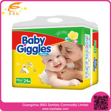 Top quality and low price baby diapers turkey made in China