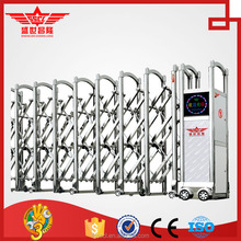 Electric sliding fence folding gate design-J1430