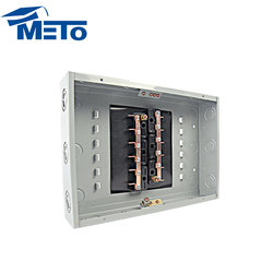 Low Price 12 way electrical distribution box manufacturers industrial distribution box Load center outdoor