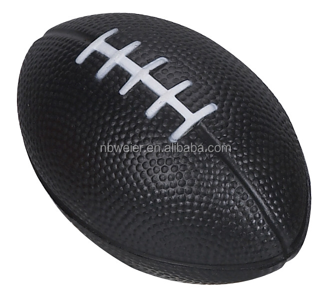 6x10cmPU material American football promotional gifts/promotional toy style American football/playing American football for kids