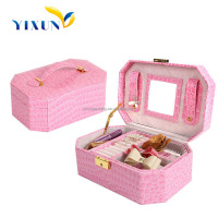 Top Quality customized mirror velvet jewellery box packaging