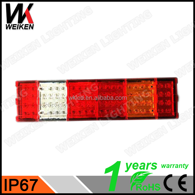 WEIKEN Spare Parts LED TAIL LIGHT/REAR LAMP ASSEMBLY for truck vans tractor WK-BSWD01