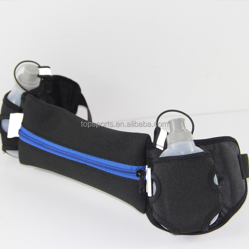 Wholesale Bicycle Sport Running belt Fanny pack waist bag with bottle holder