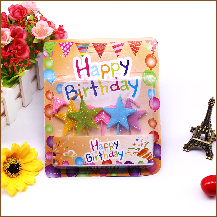 Hot sale birthday candle in bulk candle birthday cake party