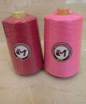 Customized 24 assorted spools polyester sewing thread