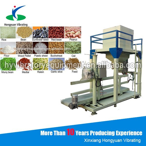 universal auto weighing all types of cereals filling bagging machine