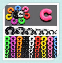 2013 silicone body jewelry BCR circular barbell