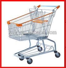 Portable Folding Wire Shopping Carts For Seniors Used In Yiwu