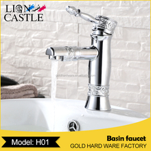China factory Classic style zinc alloy faucet single handle for wash basin taps