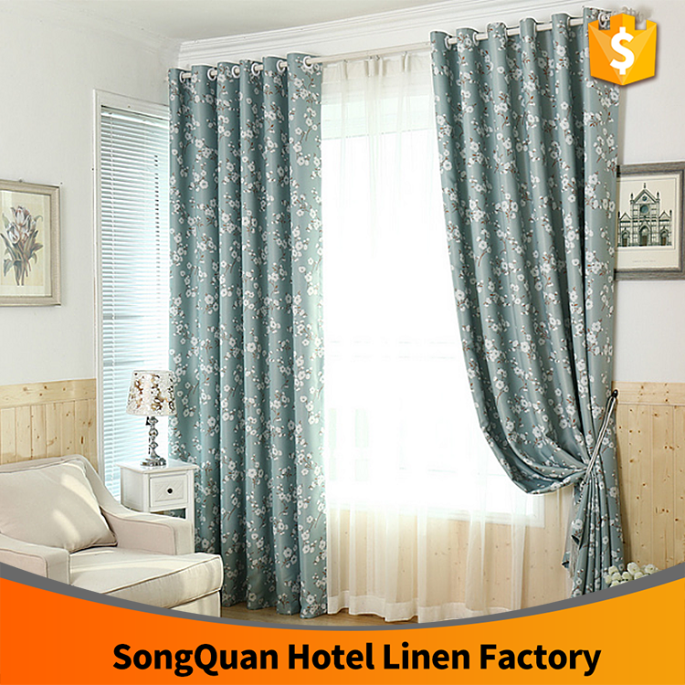 Alibaba supplier American design Blackout window curtain