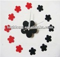 DIY Flower Wall Clock Flower Wall Clock