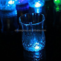 led drinking glasses led cup lot high quality low price factory supply water response led cups/led cup