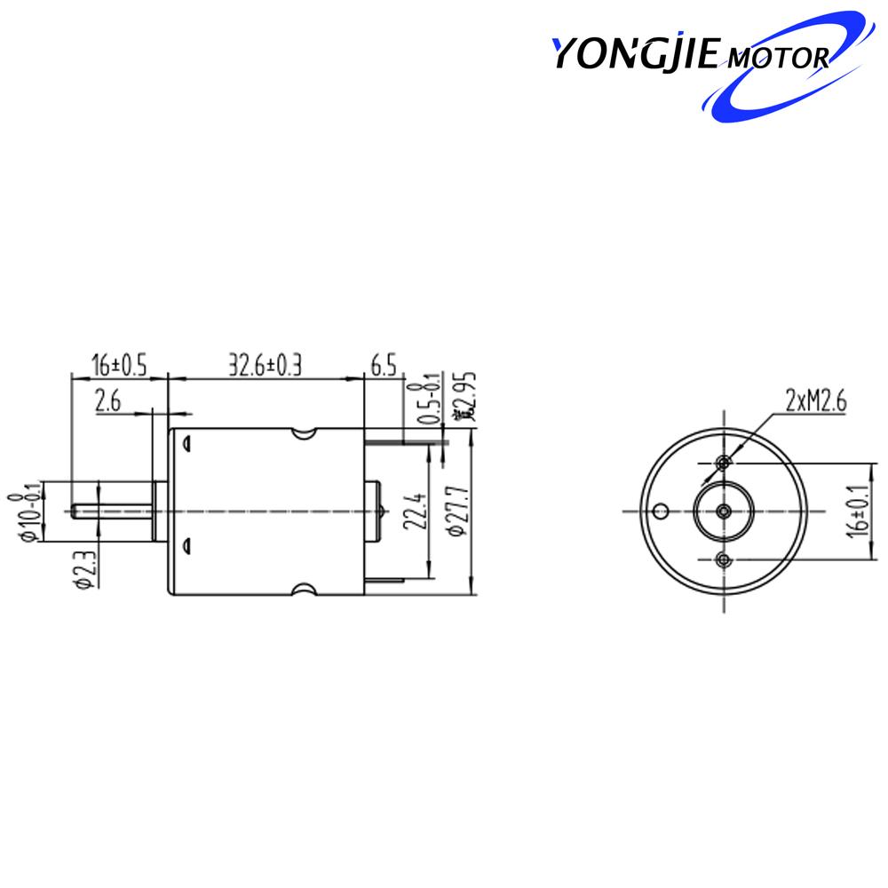 ydbr360sh de 12 voltios motor el u00e9ctrico a prueba de agua