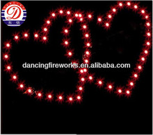 heart shape Display Shells Fireworks for Pyrotechnics