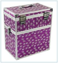 Eminent aluminum jewelry travel case hard abs trolley case JH529D