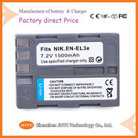 FREE SAMPLE EN EL3 EL3 EN-EL3 BATTERY for nikon camera