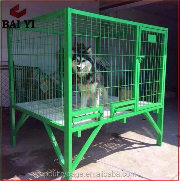 Retail Wholesale Galvanized Steel Dog Kennel Cages
