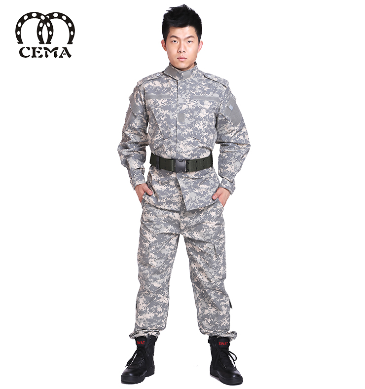 China supplier best quality custom camouflage jacket military uniform