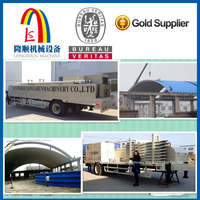 arched colored steel plate stamping plant roll forming making machine