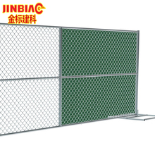 Chain Link Fence, Galvanized Panel Portable Temporary Self assembly Boxed Kit