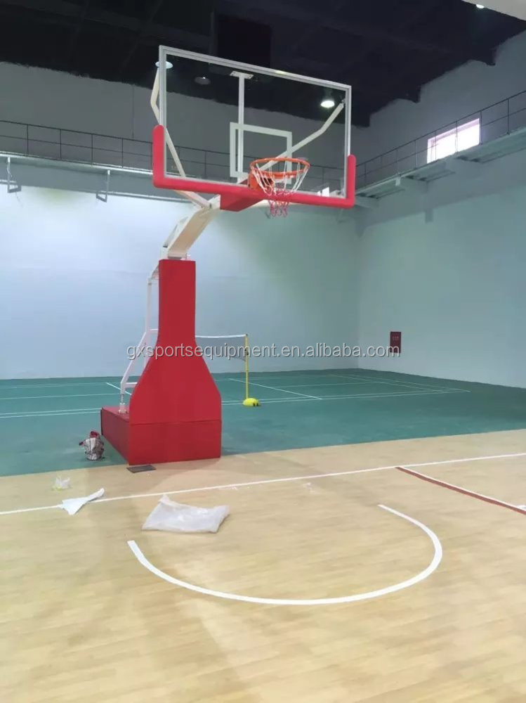 Manual hydraulic basketball hoop stand/basketball system/Basketball goal posts
