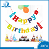 Custom Cheap High Quanlity Foil Party Bannr / PE Birthday Banner Happy Birthday Banner