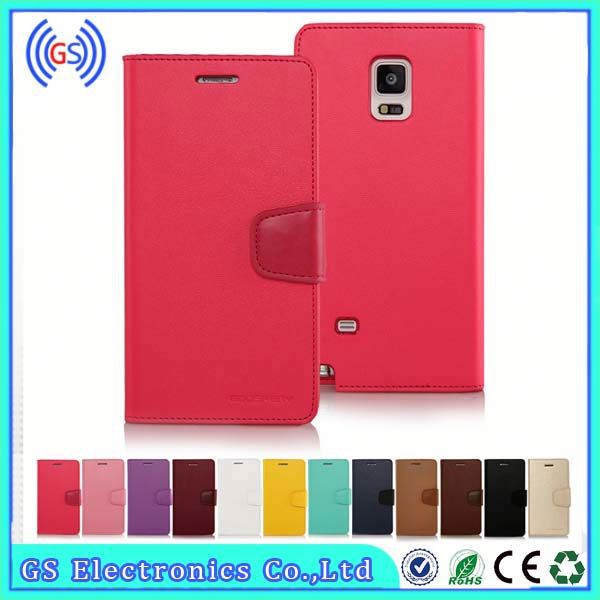 Wallet Synthetic Soft Leather Case For Sony Xperia Z2 Korean Goospery Sonata
