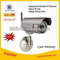 Free Shipping New Products 300kp IR Waterproof Fixed Lens Outdoor IP Camera