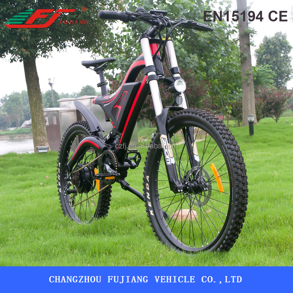 250W/500W powerful ebike kit, electric mountain bikes