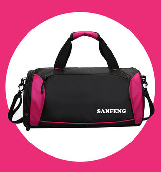 Wholesale Tote Holdall Sports Bag Waterproof Gymnastic Bag, Custom Women Gym Duffle Bag With Shoes Compartment